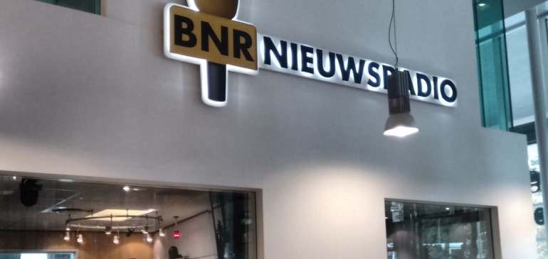 Drone Post Flight Radio Interview bij BNR