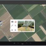 Verschillende datasets: Luchtfoto, locaties van hoogspanningsmasten en detail foto's uit drone.