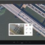 Combinatie Datasets: Luchtfoto en detail foto's van stalen constructie.