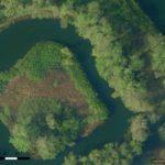drone kaart maken eiland water orthofoto 5cm resolutie