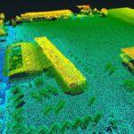 Puntenwolk vanuit een Drone door Drone Post Flight