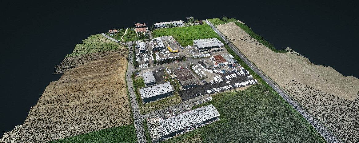 drone puntenwolk pointcloud 3d